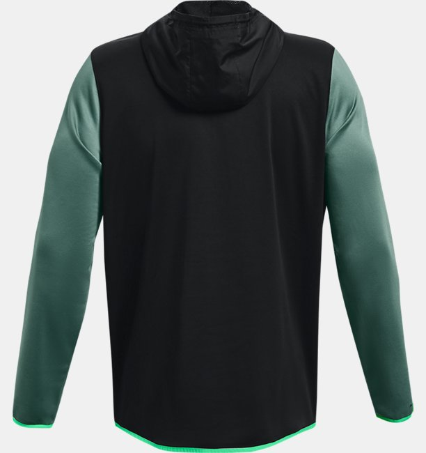 Mens Armour Fleece® Storm ½ Zip Hoodie