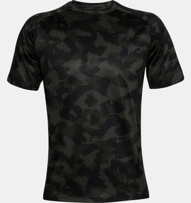 Mens UA Tech™ 2.0 Camo Short Sleeve