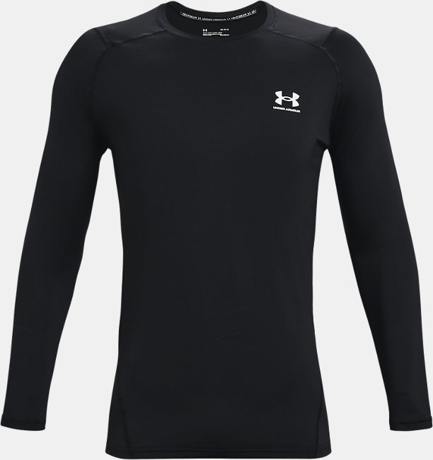 Mens HeatGear® Armour Fitted Long Sleeve
