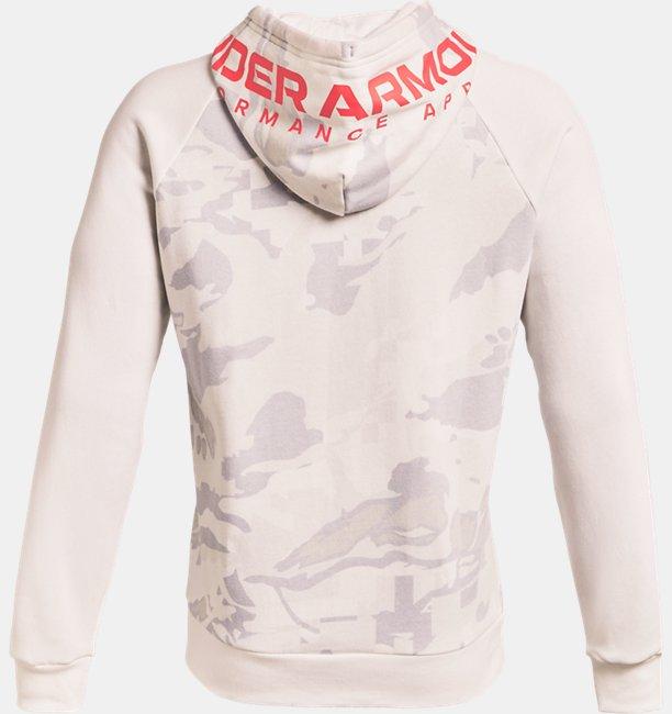 Sudadera con Capucha UA Rival Fleece Box Camo para Hombre