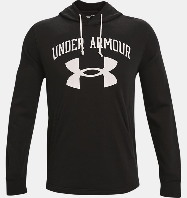Herenhoodie UA Rival Terry Big Logo