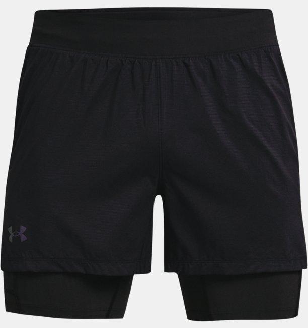 Mens UA RUSH™ Run 2-in-1 Shorts