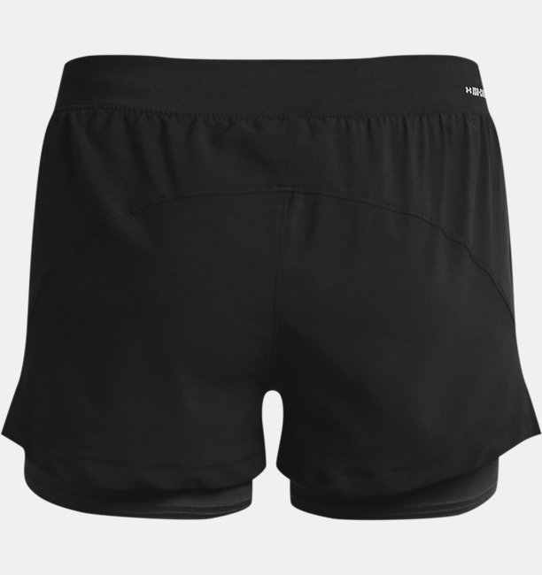 Womens UA Iso-Chill Run 2-in-1 Shorts