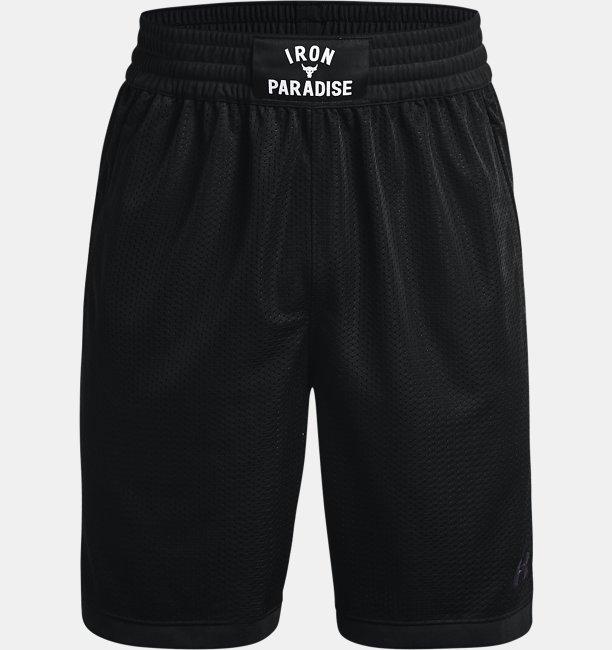 Mens Project Rock Mesh Shorts