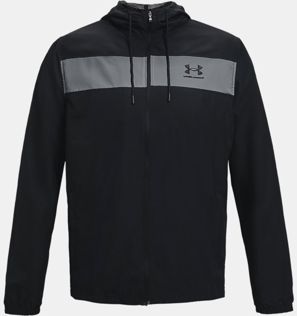 Mens UA Sportstyle Windbreaker Jacket