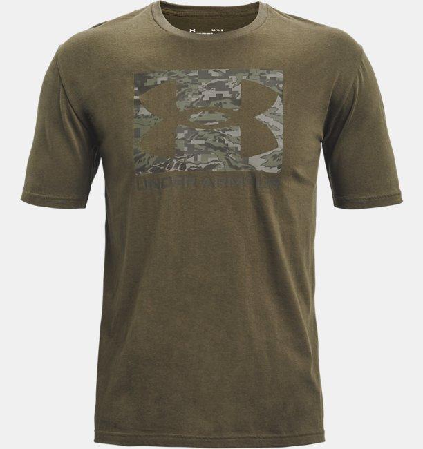 UAカモ ボックス ロゴ ショートスリーブ(トレーニング/MEN)