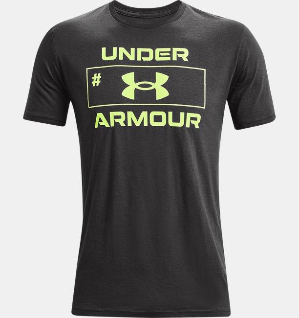 UAナンバー スクリプト ショートスリーブ(トレーニング/MEN)
