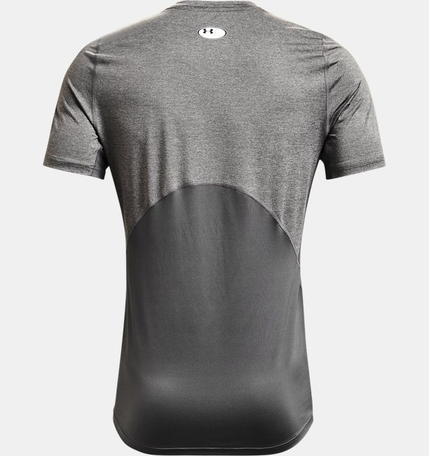 Mens HeatGear® Armour Fitted Short Sleeve