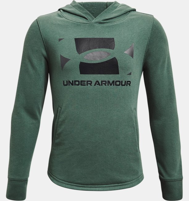 Jungen UA Rival Hoodie aus French Terry