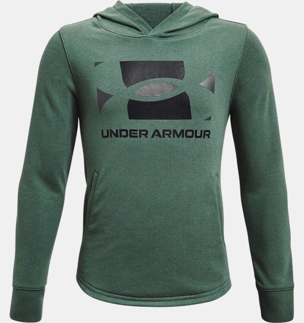 Boys UA Rival Terry Hoodie