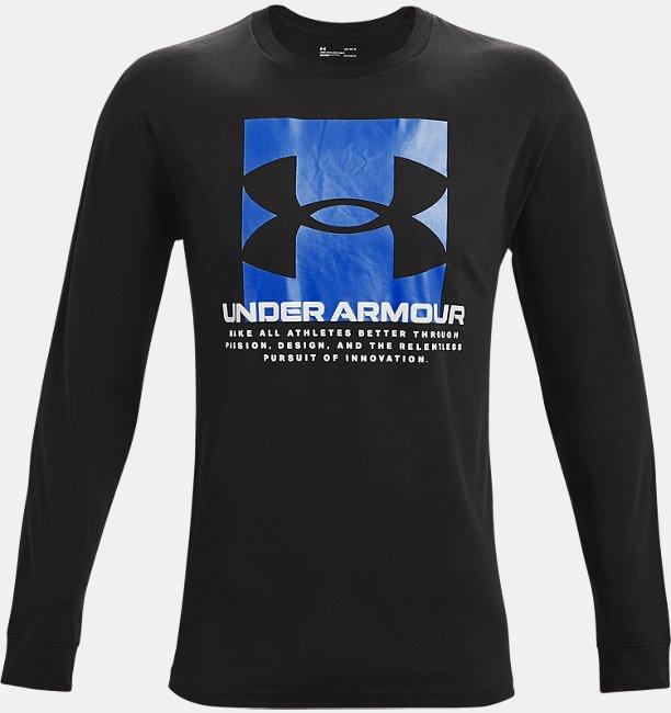 UAボックス スクリプト ロングスリーブ(トレーニング/MEN)