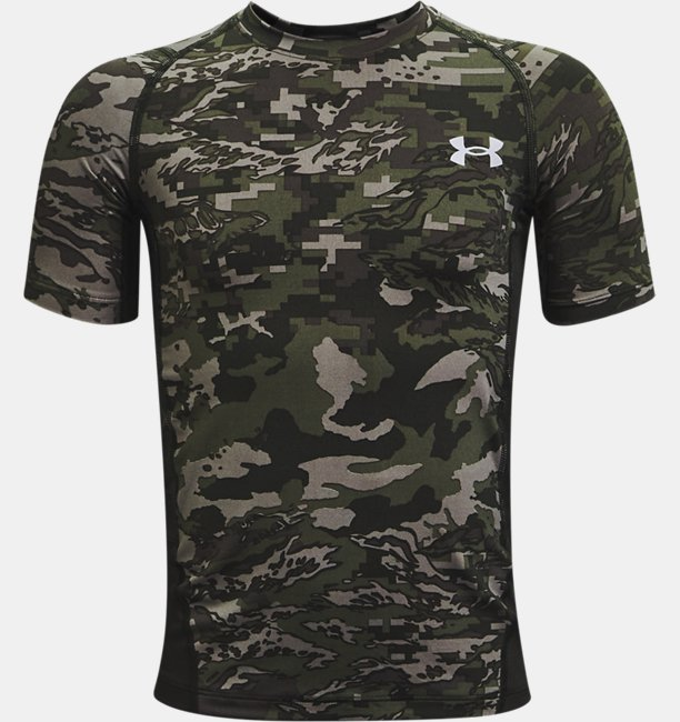 Boys' HeatGear® Armour Printed Short Sleeve