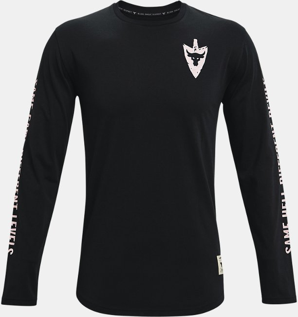 Mens Project Rock Same Game Long Sleeve