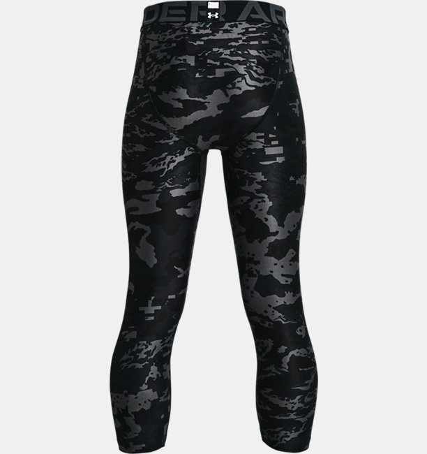 Boys HeatGear® Armour Printed ¾ Leggings