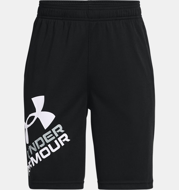 Boys' UA Prototype 2.0 Logo Shorts