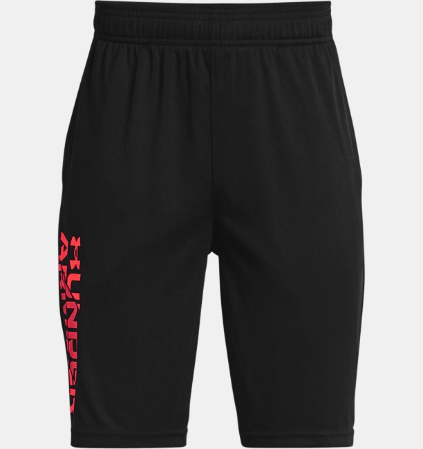 Boys UA Prototype 2.0 Wordmark Shorts