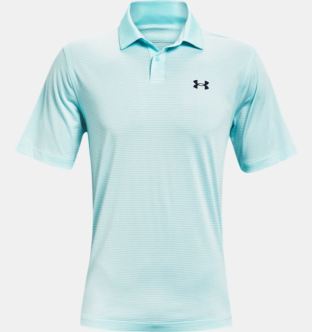 Mens UA Performance Stripe Polo