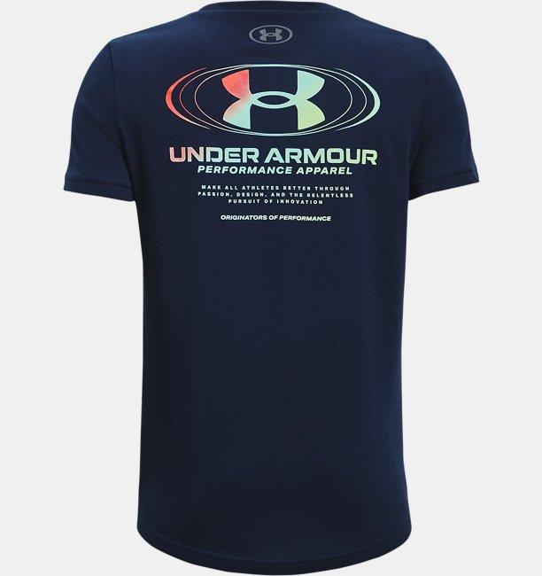 Boys UA Triple Stack Short Sleeve