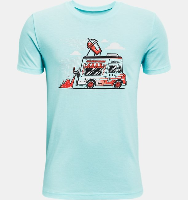 Boys UA SP Ice Cream Truck Short Sleeve