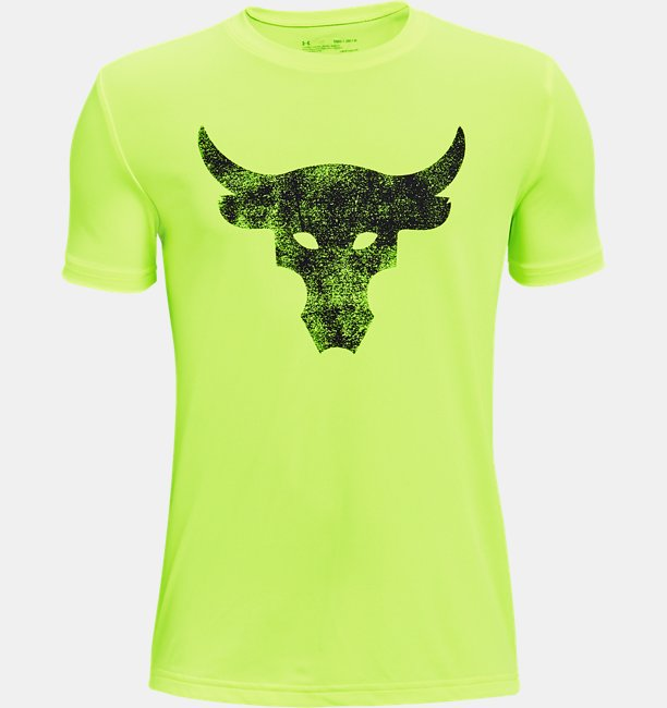 Boys Project Rock Brahma Bull Short Sleeve