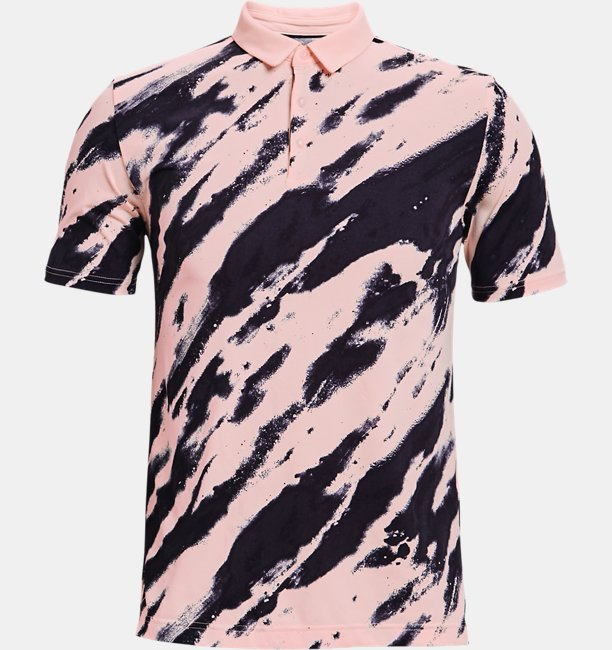 Mens Curry Vanish Printed Polo