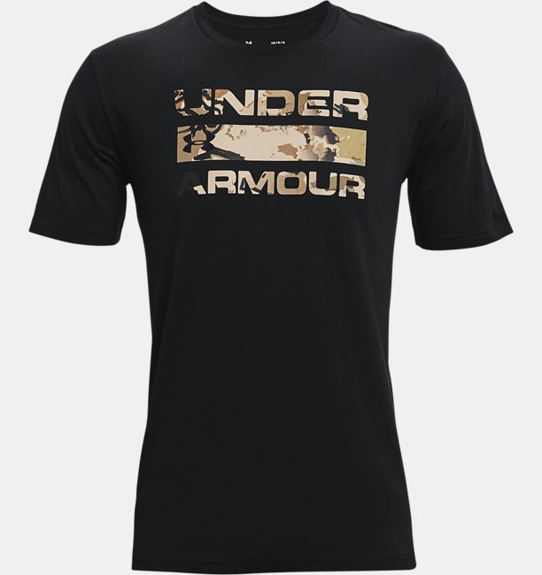 Mens UA Stacked Logo Fill T-Shirt