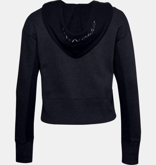 Womens UA Rival Fleece Embroidered Hoodie