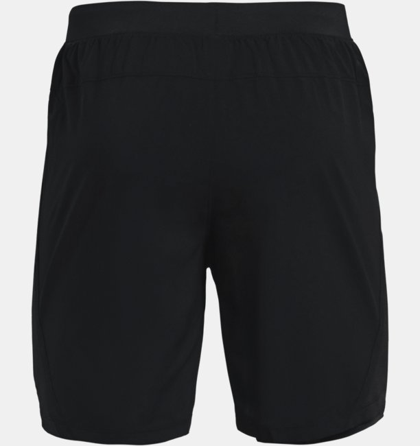 Mens UA Launch Run 2-in-1 Print Shorts