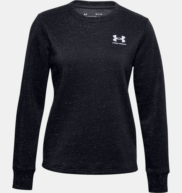 Womens UA Rival Fleece LC Crew