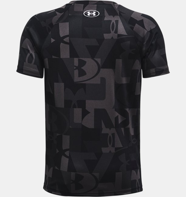 Boys UA Tech™ Big Logo Printed Short Sleeve