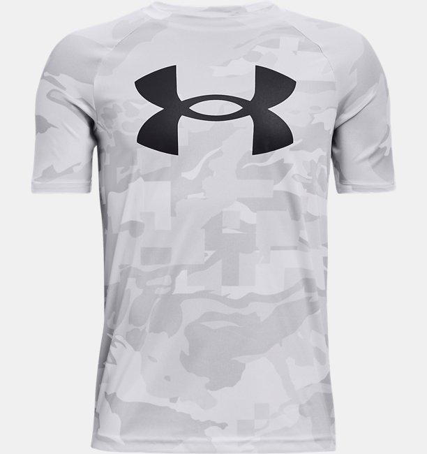 Boys UA Tech™ Big Logo Printed Short Sleeve