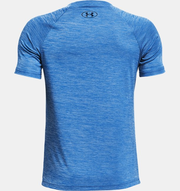 Boys UA Tech™ Split Logo Hybrid Short Sleeve