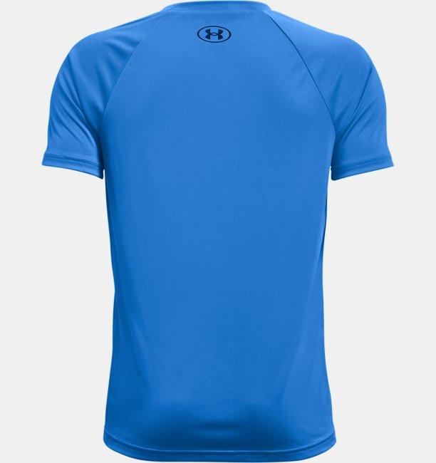 Boys UA Tech™ Hybrid Print Fill Short Sleeve