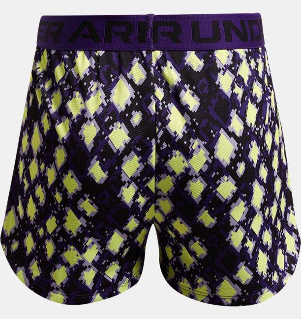 Girls UA Play Up Printed Shorts