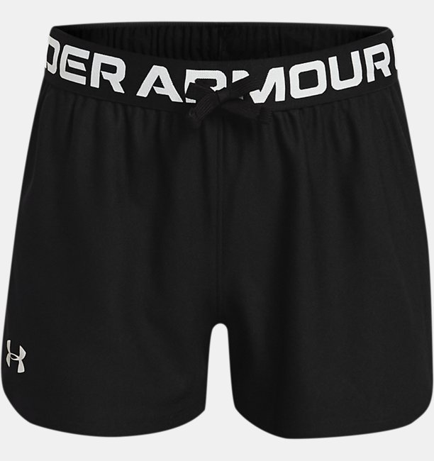 Girls UA Play Up Shorts