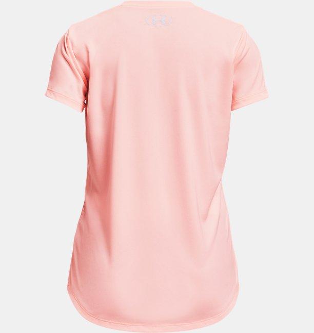 女童UA Tech™ Graphic Big Logo短袖T恤