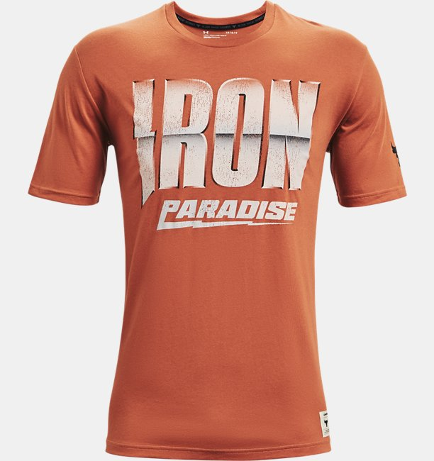 Mens Project Rock Dare to Fail Short Sleeve