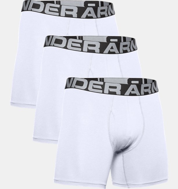Mens Charged Cotton® 15 cm Boxerjock® – 3-Pack