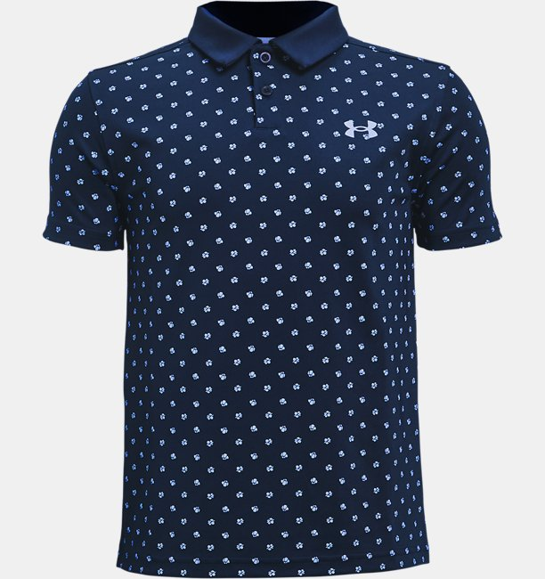 Boys UA Performance Poppie Polo