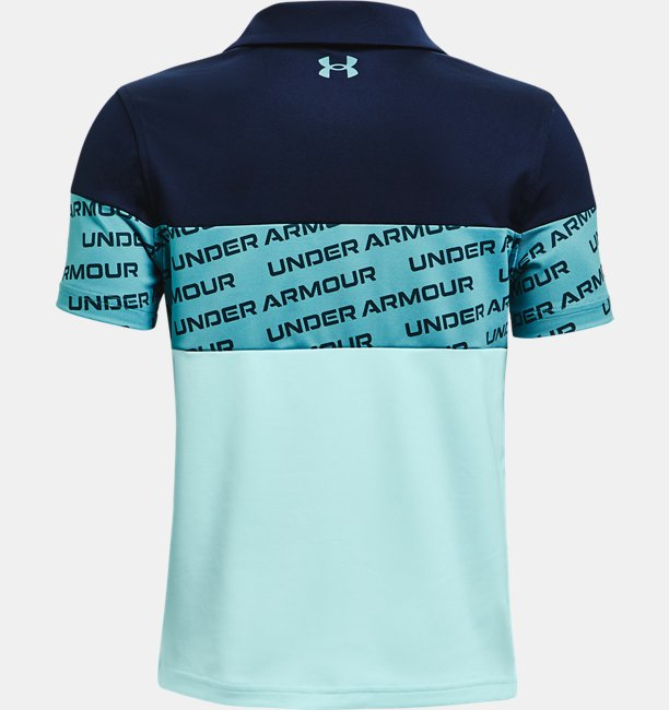 Boys UA Performance Wordmark Polo