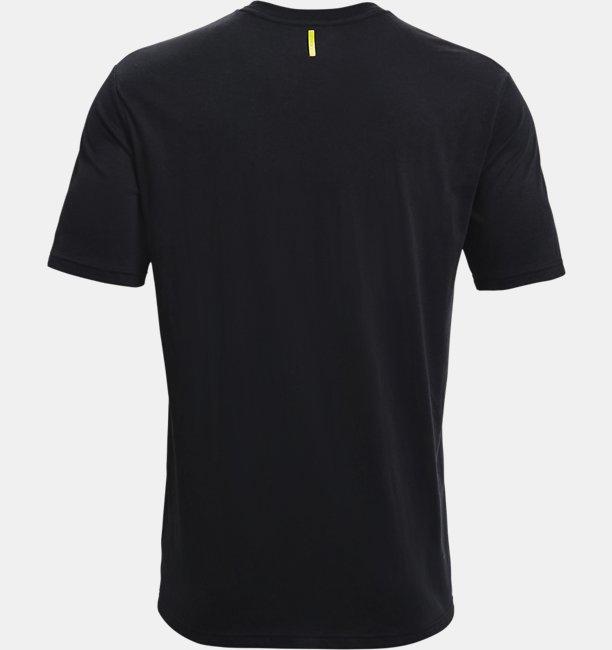 Mens Curry Wordmark T-Shirt
