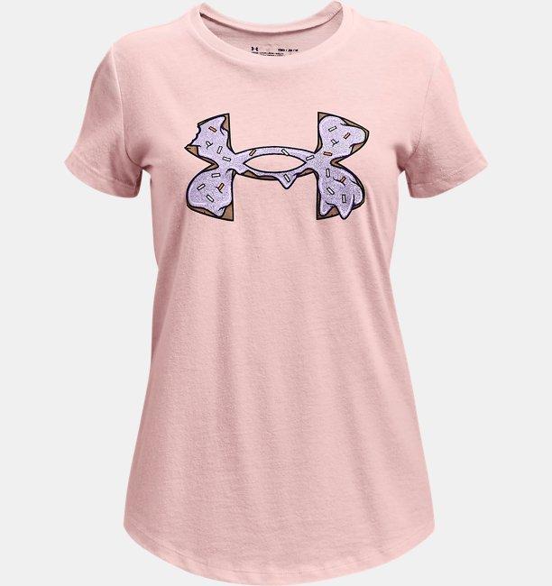 Girls UA Summer Graphic Short Sleeve