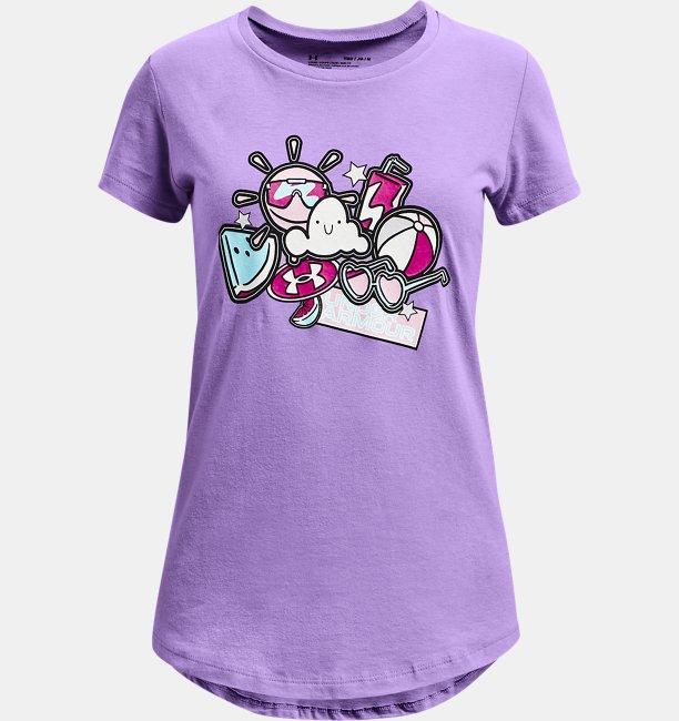 女童UA Summer Graphic短袖T恤