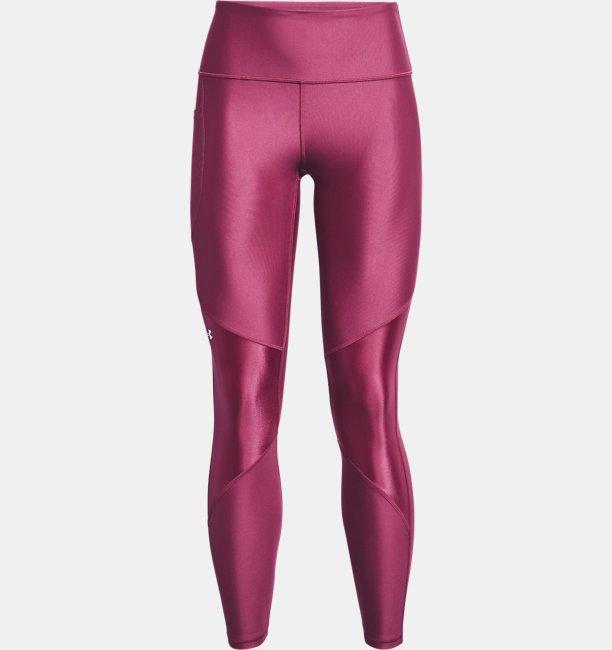 Womens HeatGear® Armour No-Slip Waistband Shine Full-Length Leggings