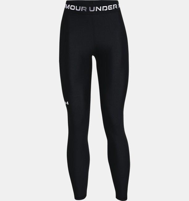 Womens HeatGear® Armour Wordmark Waistband Full-Length Leggings