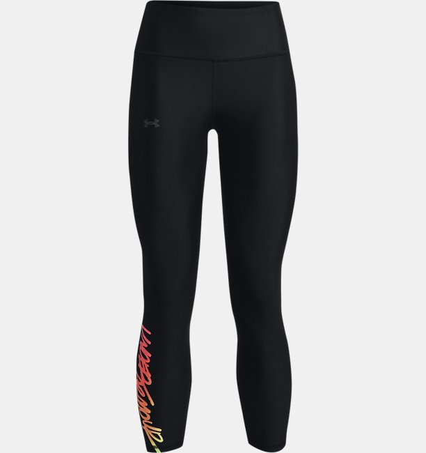 Leggings HeatGear® Armour Graphic Ankle para Mujer