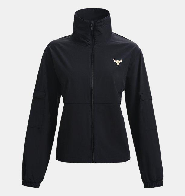 UAプロジェクトロック ウーブン ジャケット(トレーニング/WOMEN)