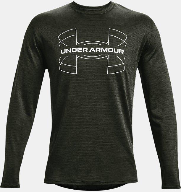 Mens UA Training Vent Graphic Long Sleeve