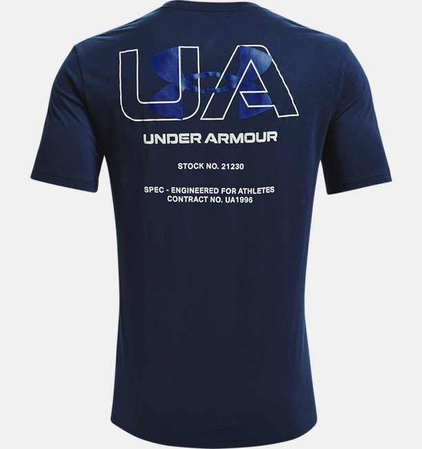 UAショートスリーブ エンジニアード シンボル(トレーニング/MEN)