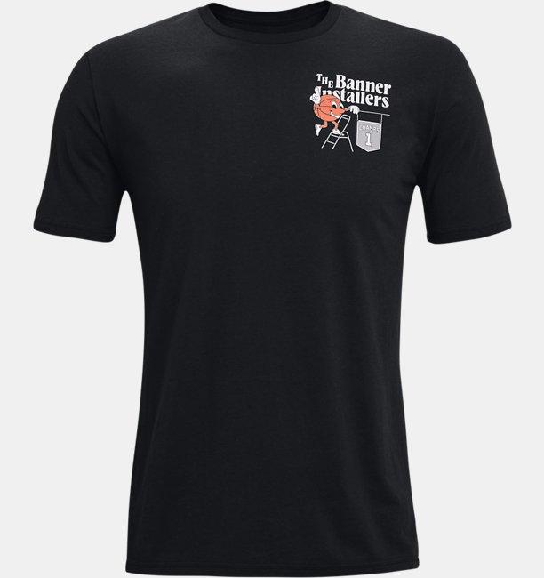 Mens UA Basketball Vintage T-Shirt